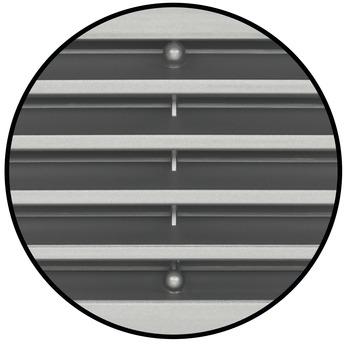 10 rejillas de ventilaci/ón de acero inoxidable color negro gabinete y caja de zapatos ba/ño con agujero de ventilaci/ón redondo rejilla de ventilaci/ón redonda para cocina